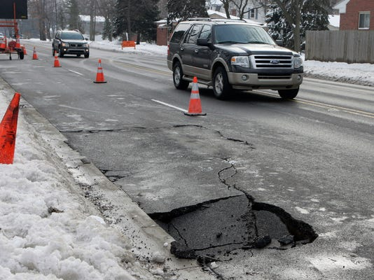 Michigan road funding