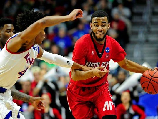 NCAA Basketball: NCAA Tournament-First Round-Kansas vs Austin Peay