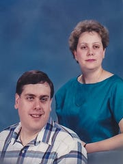 Jim Holic and his sister, Anne Holic. Anne was Jim's