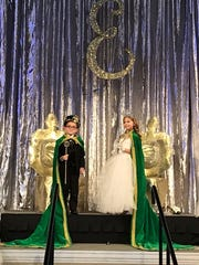 2018 Edison Junior Court king and queen Nicholas Thompson and Emersyn Kuykendall. The junior court royalty was crowned at the end of the EDison Junior Parade on Sunday.