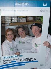 Ginny Fischer, from left, Julie Vazquez and Jeff Telepak