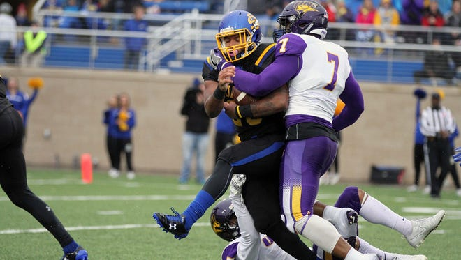 Nothing went right for Mikey Daniel and SDSU when they played Northern Iowa on Hobo Day, a 38-18 Jackrabbit loss on Oct. 14.