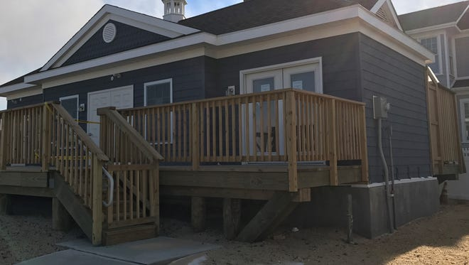 Lavallette's lifeguard headquarters on Philadelphia Avenue has been declared off limits after mold was recently discovered inside the building.