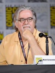 'The Simpsons' creator Matt Groening says he's surprised