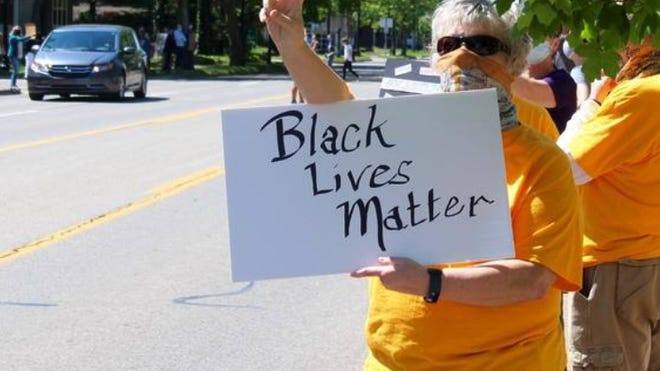 Protesters have been rallying in Holland over the past week to show support for the Black Lives Matter movement amidst nationwide unrest.
