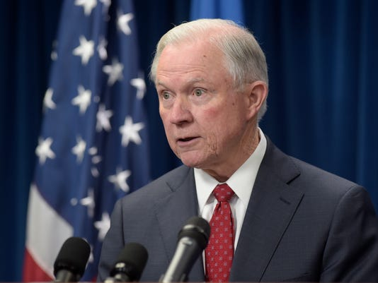 AP SESSIONS ACLU COMPLAINT A FILE USA DC