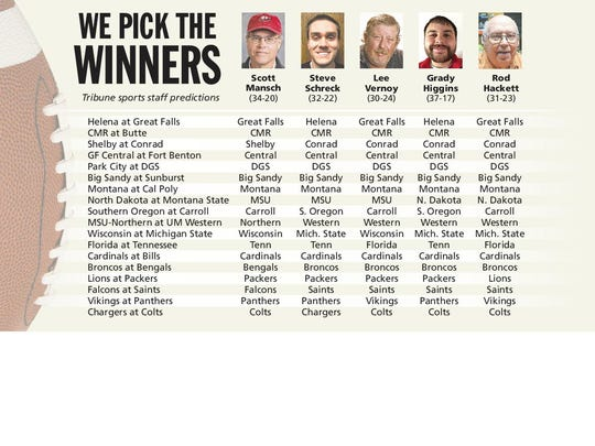 We Pick The Winners
