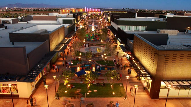 The SanTan Village shopping center would be in Chandler if Gilbert had never grown.