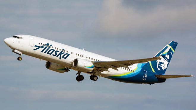 The Santa Barbara Airport announced that Alaska Airlines would begin using a Boeing 737 aircraft for its daily direct flight service to the Seattle airport.