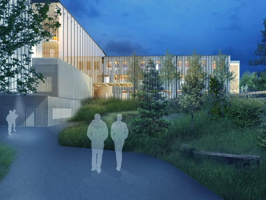 Artist renderings of the new Peavy Hall, Oregon State