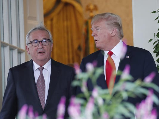 Donald Trump,Jean-Claude Juncker