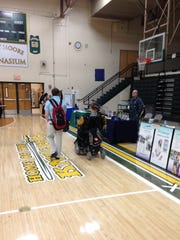 Northeastern students visit the Transitional Fair to