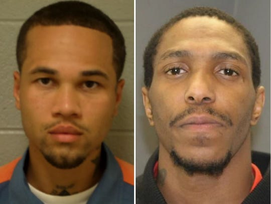 Anthony Lee Wallace, left, and Wilbert Edmond