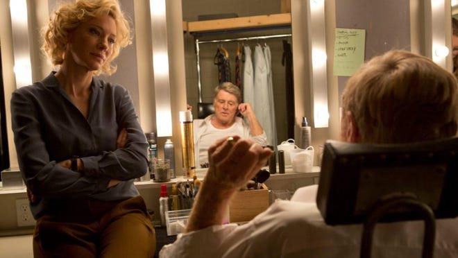 """Cate Blanchett as CBS News producer Mary Mapes and Robert Redford as CBS News anchor Dan Rather in """"Truth."""""""