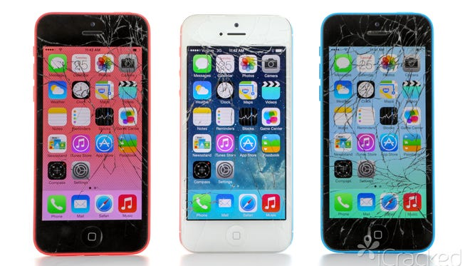 Tough cases and services like iCracked can help users prevent or fix cracked phone screens.