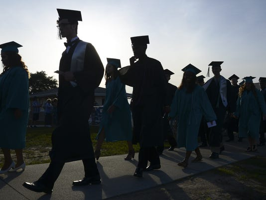 Bayside High Graduation