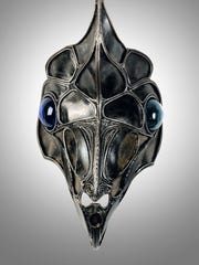 """""""Insect Head"""" (1992) by Alexandra Heller"""