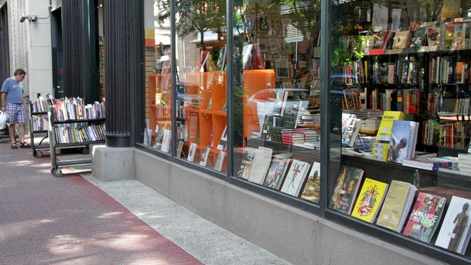 There will be plenty of room for browsing downtown when Westminster Street closes each Saturday starting Aug. 1. Symposium Books is one of the participating merchants.
