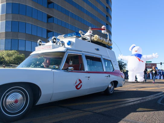 The Arizona Ghostbusters made sure the Fiesta Bowl