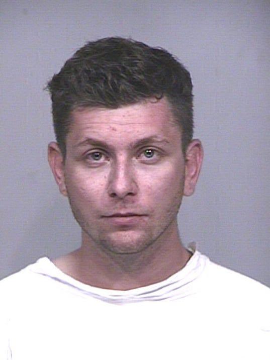 Streaker arrested