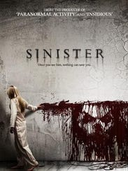 "See ""Sinister"" at an outdoor screening, Saturday, Aug."