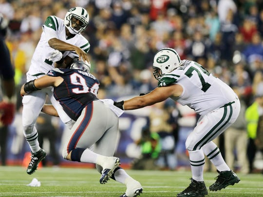 Patriots DT Chris Jones (94) was a healthy scratch in the AFC title game.