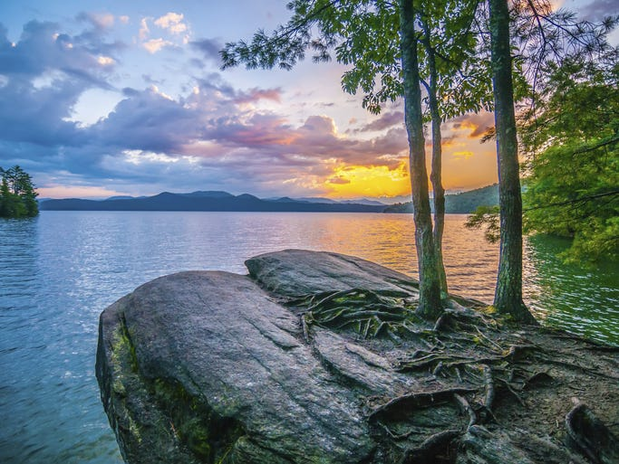 Photo tour beautiful south carolina for Lake keowee fishing