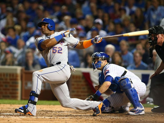 Yoenis Cespedes has a .311 batting average and .500