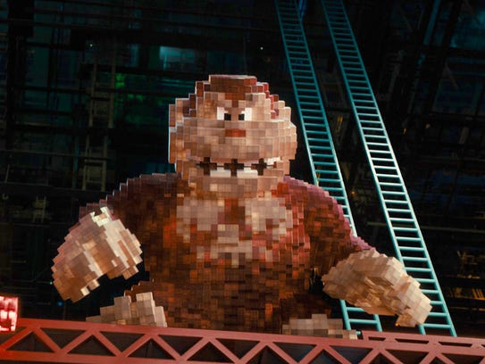 Donkey Kong was designed to be the most threatening