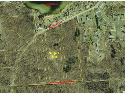Woods Edge Hartland - site map.png