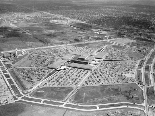 """Seen in 1961. Architect Victor Gruen called it """"the Shopping Center of Tomorrow."""""""