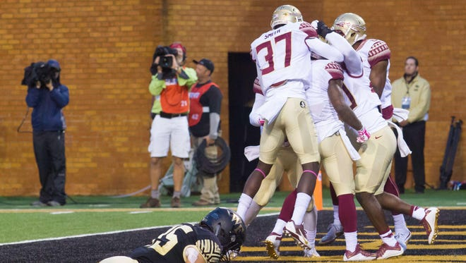 The Seminoles fell from No. 11 to No. 12 in the AP Poll.