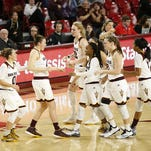 ASU women's basketball moved up to No. 8 in the AP top 25 Monday, equaling its highest ranking ever.