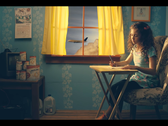 """A still from the short film """"Penelope in the Treehouse"""""""