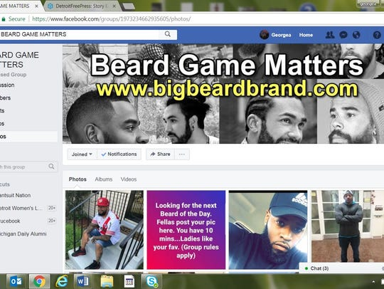 Beard Game Matters Facebook screen grab