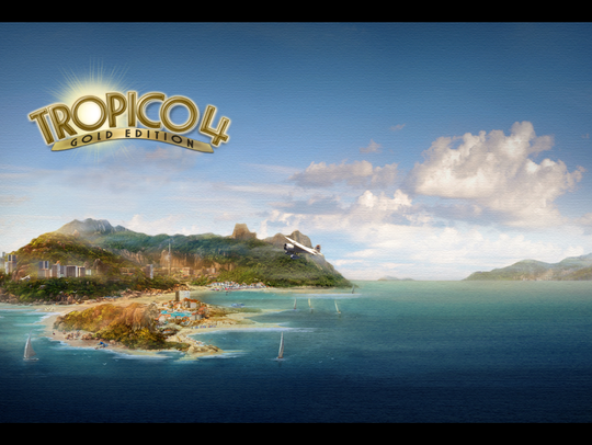 A scene from 'Tropico 4'