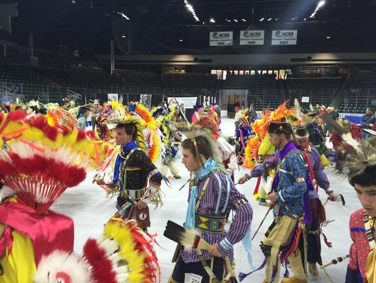 Dancers perform during the 2015 National Order of the