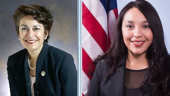 Democrat Karina Cervantez Alejo seeks to take the seat vacated by her husband. She is vying for the Assembly 30 seat against Democrat Anna Caballero who came out on top in the primary election with 46.1% of the vote while Cervantez Alejo pulled in 26%.