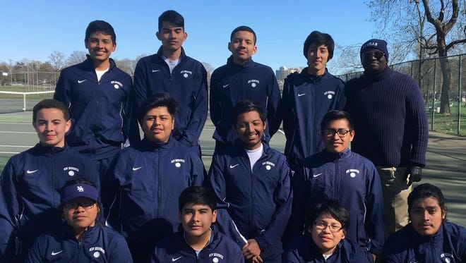 New Brunswick boys tennis team