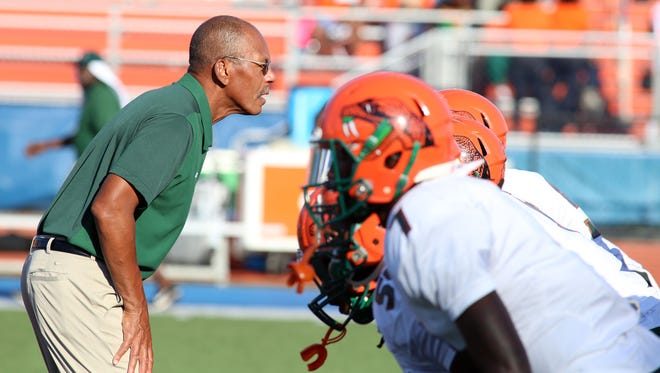 FAMU head coach Alex Wood has a short week to get the Rattlers ready for the 2016 MEAC champion North Carolina Central Eagles.