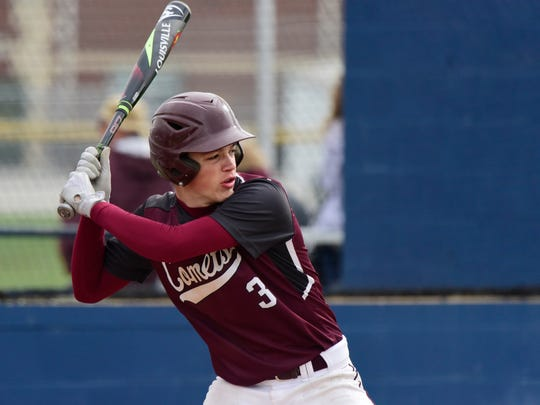 Genoa's Sam Sutter knows how he can help his team with his bat.