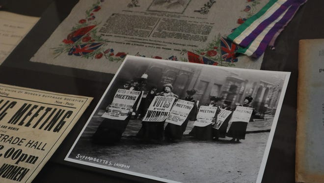 The UGA Hargrett Rare Book and Manuscript Library will have a virtual tour of its women's suffrage exhibit Wednesday.