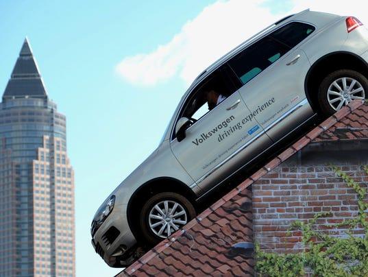 EPA FILE GERMANY AUTOMOTIVE VW TOUAREG EBF CONSUMER GOODS DEU