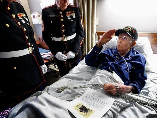 "Iwo Jima Robert ""Buck"" Arata"
