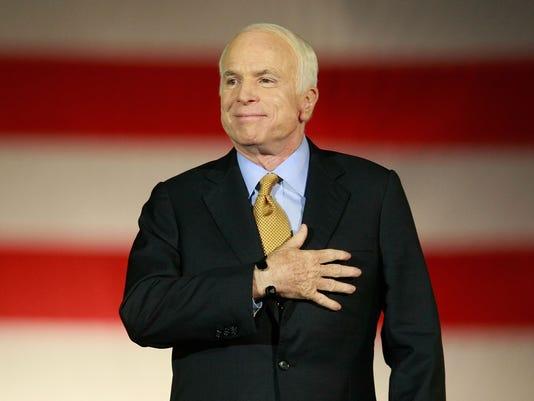 McCain Holds Election Night Gathering In Phoenix on Nov. 4 2008