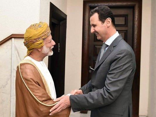 SYRIA-IRAN-DIPLOMACY