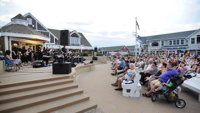 File photo The Bethany Beach Bandstand is a hotspot for music lovers each summer. The artists in the 2017 Summer Concert Series have been announced.