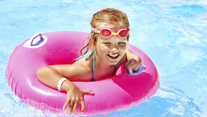 Area water parks are open daily through Sunday.
