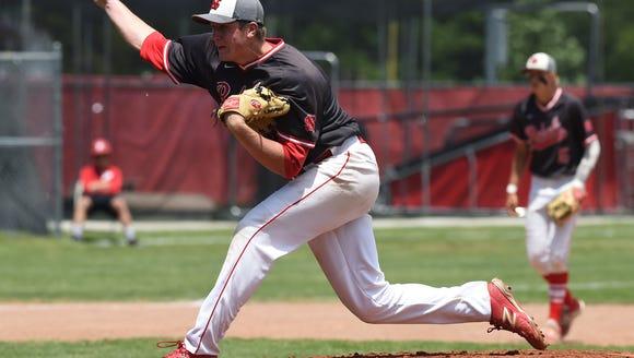 Scenes from Saturday's IHSAA baseball semi-state in