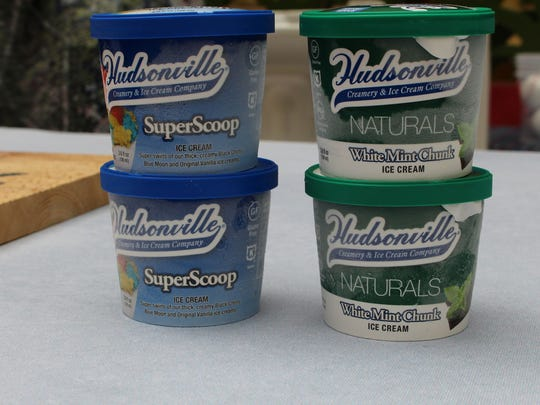 Hudsonville is saluting Detroit with ice cream.
